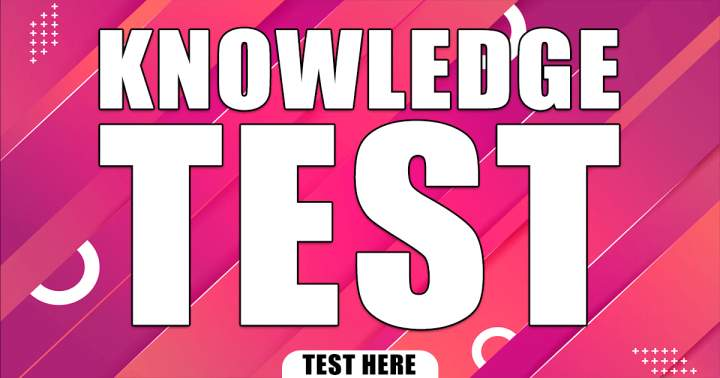 Knowledge Test