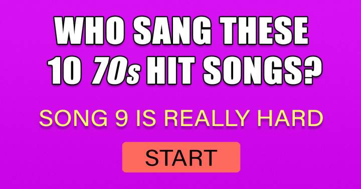 Who Sang These 70s Songs?