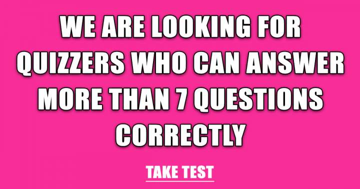 Take This Knowledge Test